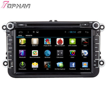 Wanusual Quad Core Android 4.4 автомобильный DVD для VW Golf Tiguan ПОЛО EOS Passat Jetta Touran шаран Scirocco caddy transporter Amarok
