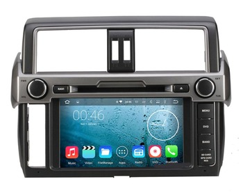 8 дюймов Octa core 2 ГБ 32 ГБ Android 6.0.1 dvd-плеер Радио GPS для Toyota Land Cruiser Prado 150 LC150 4 г 3 г Wi-Fi