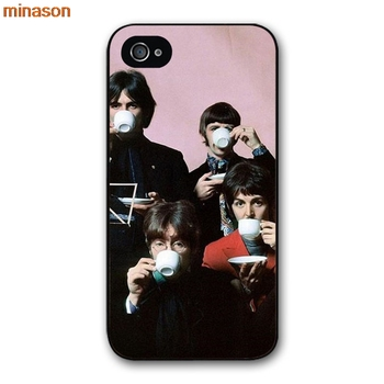 Minason The Beatles Hey Jude Плакаты чехол для iPhone 4 4S 5 5S 5C 6 6 S 7 8 плюс Samsung Galaxy S5 S6 Примечание 2 3 S5462