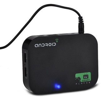 Бесплатные Корабль + Drop доставка Quad Core Android 4.4 Smart TV Box XBMC Media Player Blue Ray Проигрыватель HDD H.265 1080 P WIFI HDMI YOUTUBE